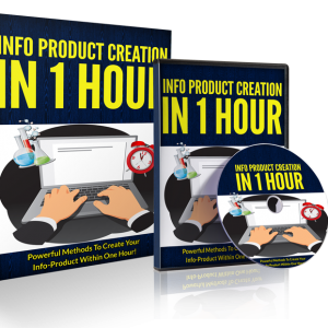 create info products in one hour